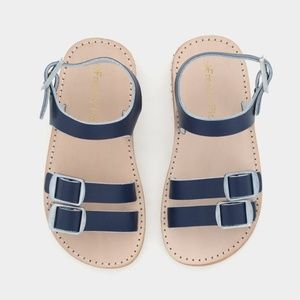 Freshly Picked Navy Maritime Rockaway Sandals Sz 7